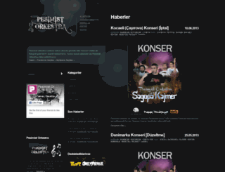 pesimistorkestra.net screenshot
