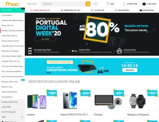 pesquisa.fnac.pt screenshot