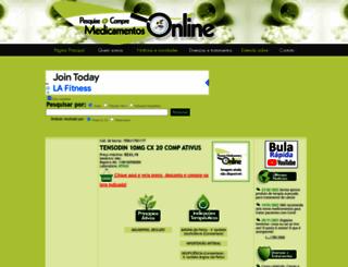 pesquisemedicamentos.com.br screenshot