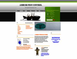 pest-control-sacramento.net screenshot