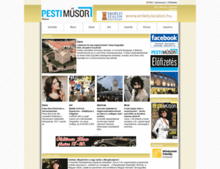 pestimusor.hu screenshot