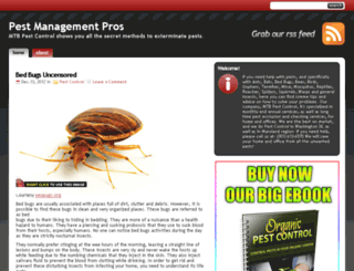 pestmanagementpros.com screenshot
