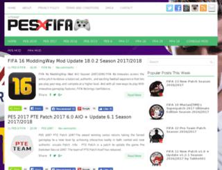 pesxfifa.com screenshot