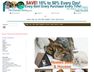 pet-discount-store.com screenshot