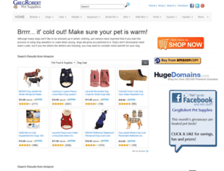 pet-dog-cat-supply-store.com screenshot