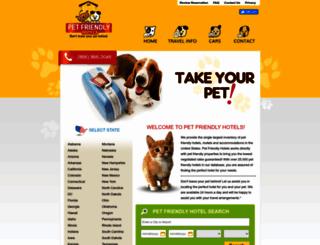 pet-friendly-hotels.net screenshot