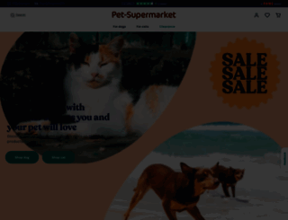 pet-supermarket.co.uk screenshot