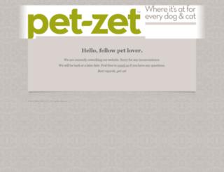 pet-zet.com screenshot