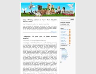pet.taragana.net screenshot
