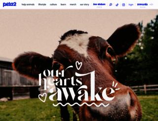 peta2.com screenshot