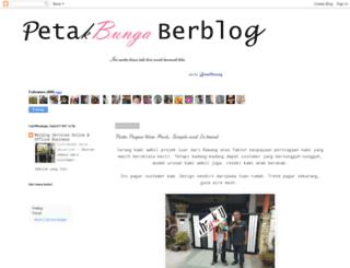 petakbunga-diari.blogspot.com screenshot
