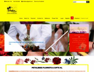 petalbees.com.my screenshot