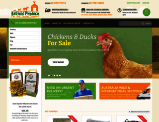 petandgarden.com.au screenshot