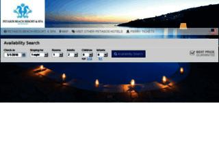 petasosbeach.reserve-online.net screenshot