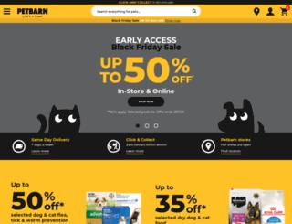 petbarnonline.com.au screenshot