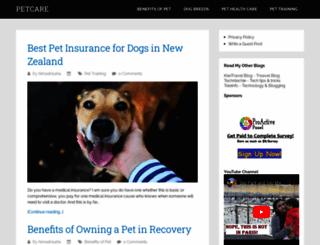 petcarebd.blogspot.in screenshot