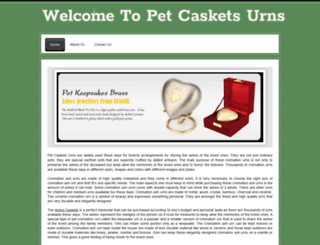 petcasketsurns.webs.com screenshot