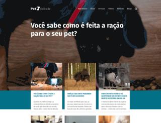 petcidade.com.br screenshot