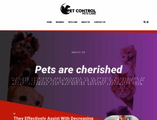 petcontrol.com.au screenshot