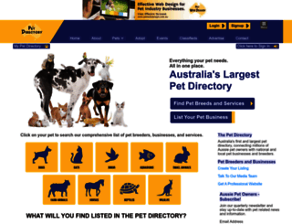 petdirectory.com.au screenshot
