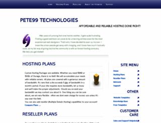 pete99.net screenshot