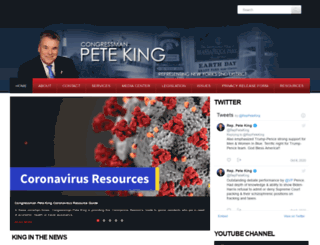peteking.house.gov screenshot