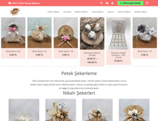 peteksekerleme.com screenshot