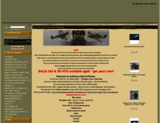 petenplanes.com.au screenshot