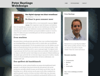peterbastingswebdesign.nl screenshot