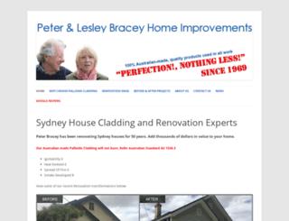 peterbracey.com.au screenshot