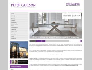petercarlson.co.uk screenshot
