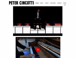 petercincotti.com screenshot