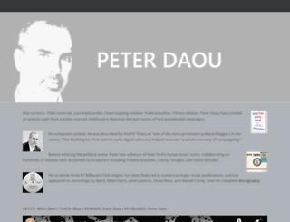 peterdaou.com screenshot
