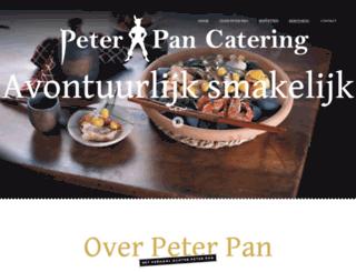 peterpancatering.nl screenshot