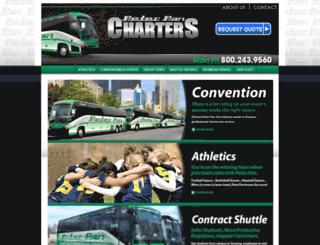 peterpancharters.com screenshot