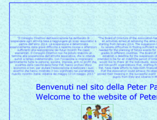 peterpat.org screenshot