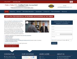 peterpetrycpa.com screenshot