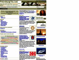 petersburgcity.com screenshot