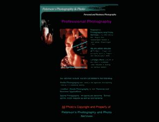 petersonsphotography.com screenshot