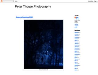peterthorpephotography.blogspot.co.uk screenshot