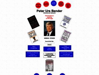 peterursbender.com screenshot