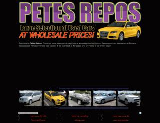 petesrepos.com screenshot