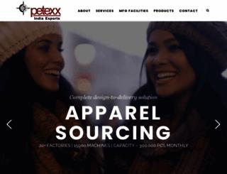 petexxindia.com screenshot