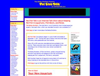 petfishtalk.com screenshot
