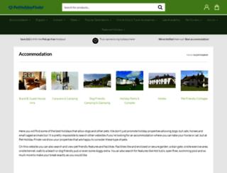 petfriendlyrentals.co.uk screenshot
