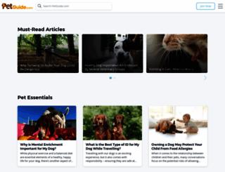 petguide.com screenshot