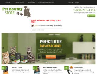 pethealthystore.com screenshot