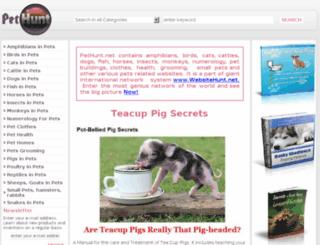 pethunt.net screenshot