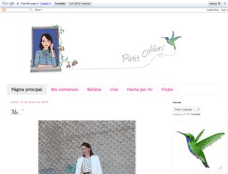 petitcolibri.blogspot.com.es screenshot