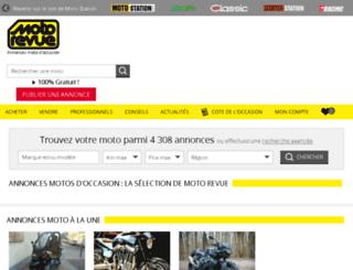 petites-annonces.moto-station.com screenshot